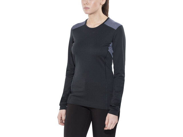 Norrøna Falketind Super Wool Shirt Damen caviar black